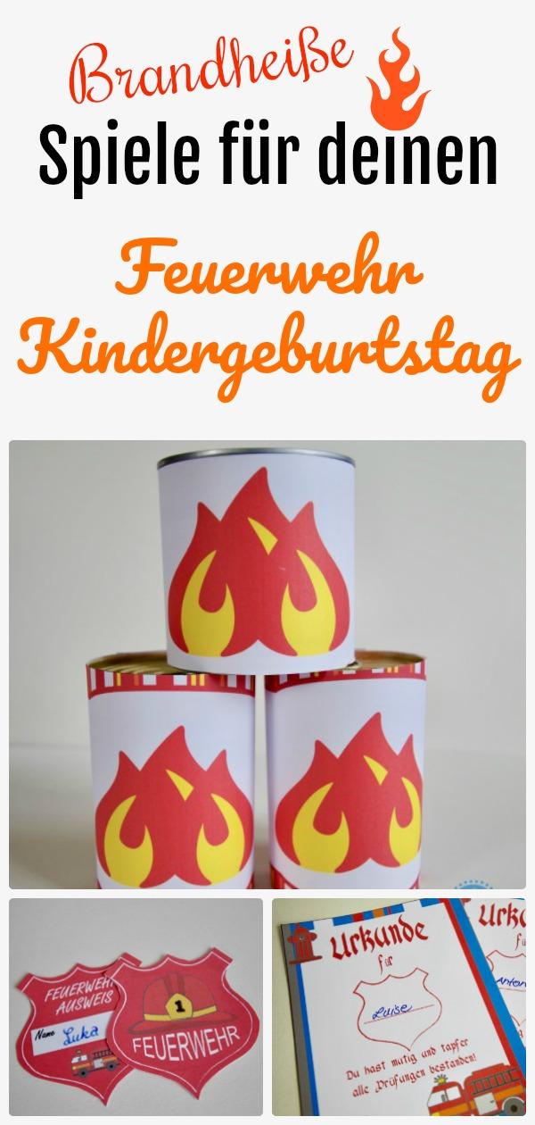 Mit diesen Feuerwehr Kindergeburtstag Spielen springt bei euren Feuerwehr Partygästen sofort der Funke über!