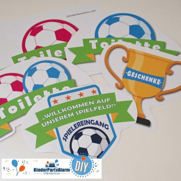 Fußball Kindergeburtstag Willkommen #entspanntkindergeburtstagfeiern #mottoparty #kinderpartyalarm #fussball