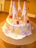 Prinzessinnen Schloss Kuchen