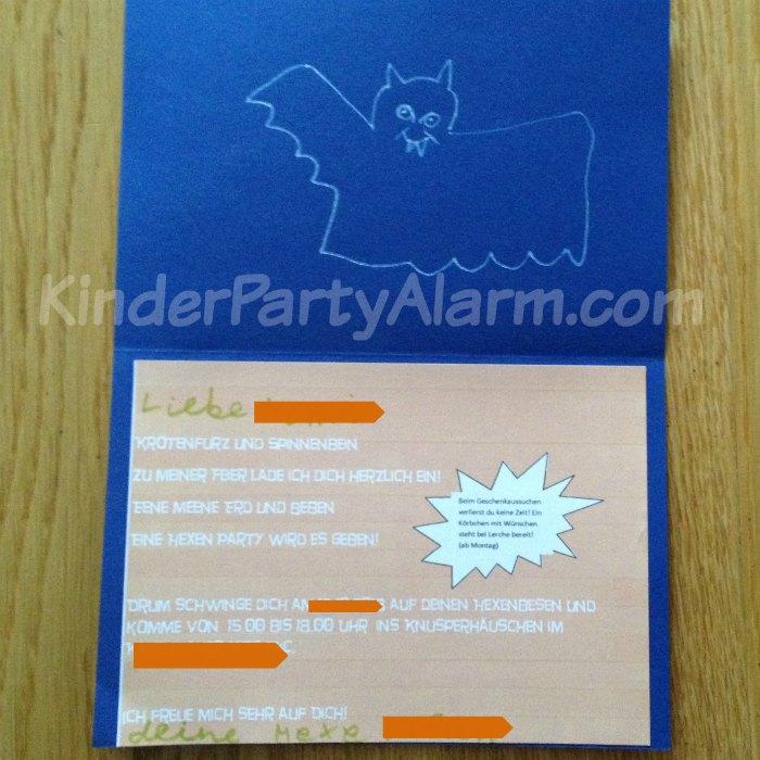 Ideen Für Deinen Hexen Kindergeburtstag Einladungstext: