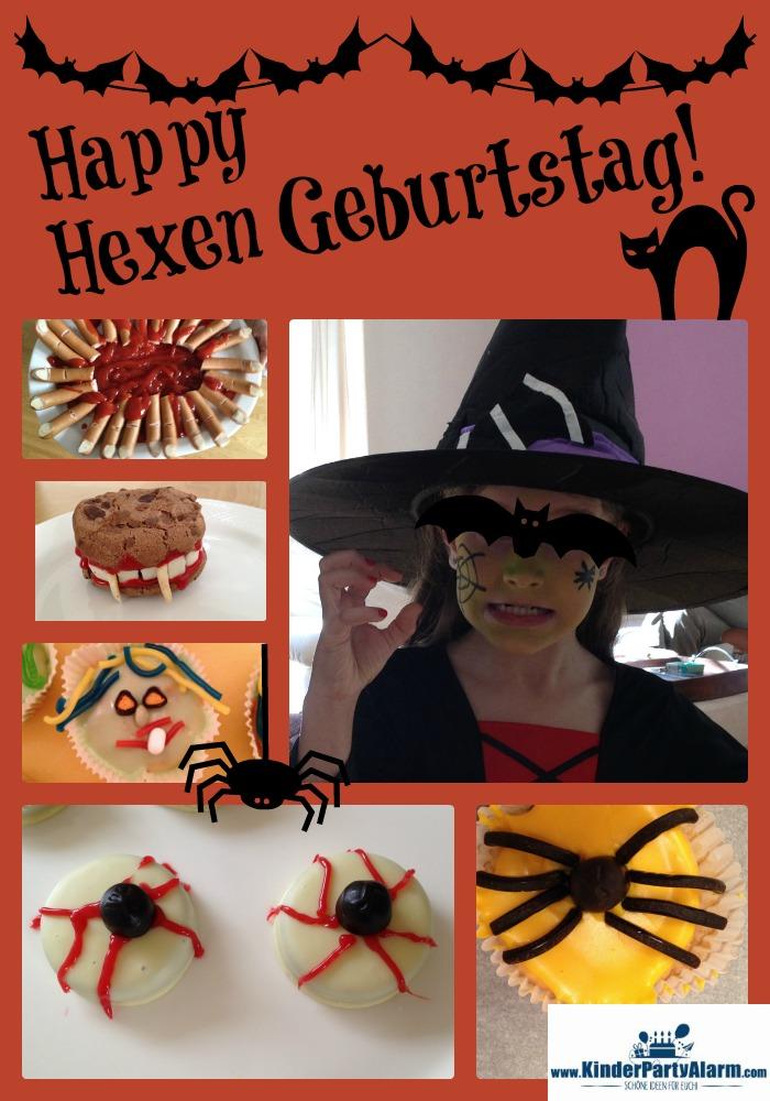 Hexen Party, Halloween Kindergeburtstag