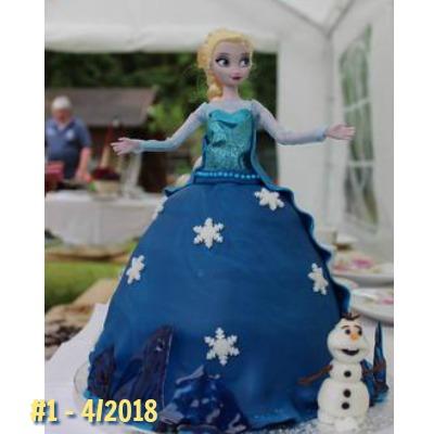 Frozen Torte zum Einskönigin Kindergeburtstag #kindergeburtstag #geburtstag #mottoparty #kinderpartyalarm #geburtstagsideen #kuchen #frozen
