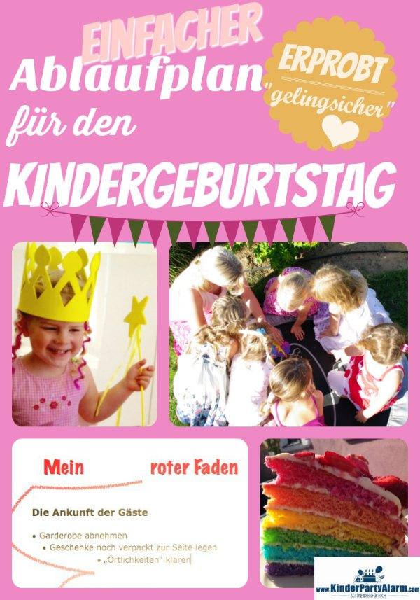 Der Kindergeburtstag Ablauf für eine rundum schöne Kinderfeier mit Spiele, Spaß und guter Laune für Jungs und Mädchen