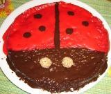 Marienkäfer Kuchen 2
