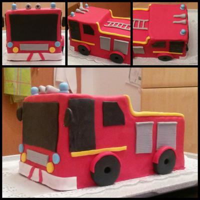 Feuerwehr Party, Feuerwehr Kuchen