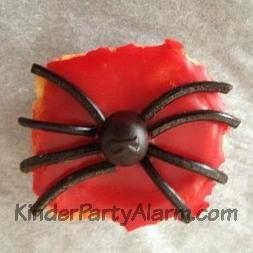 Spinnen Muffin
