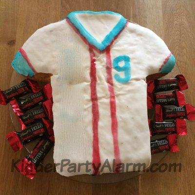 Fussball Kindergeburtstag Trikot Kuchen