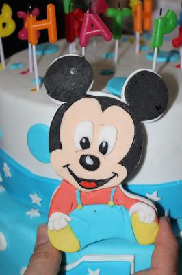 Baby Mickey Mouse Torte