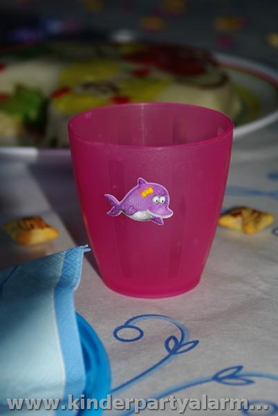 Meerjungfrau Kindergeburtstag Dekoration