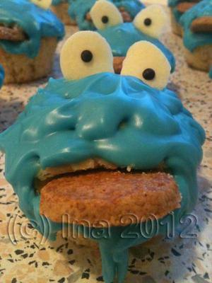 Krümelmonster-Muffin