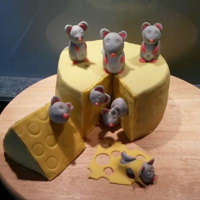 Käse Maus Torte