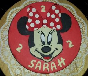 Minnie Maus Torte