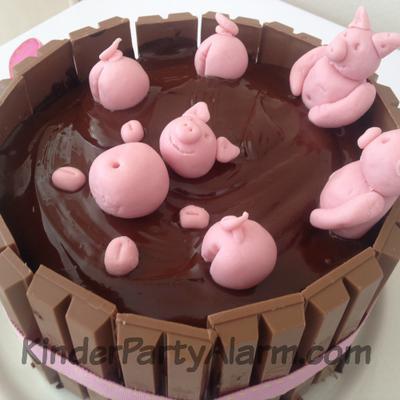 Schweine Im Matsch