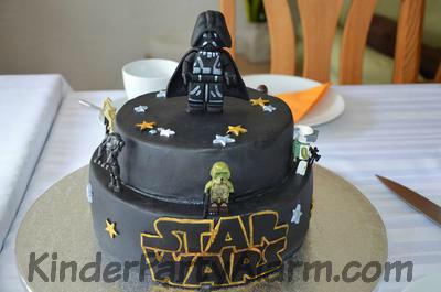 Star Wars Kindergeburtstag Torte I