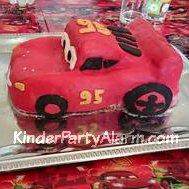 Cars Kindergeburtstagskuchen
