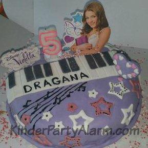 Disco Party Kindergeburtstagskuchen, Monster High Kuchen, Mädchen Kuchen