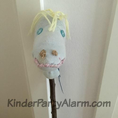Steckenpferd basteln, Pony Party, Pferde Geburtstag