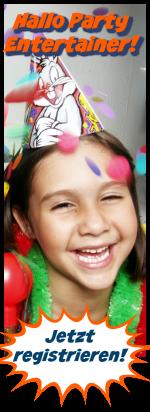 Kindergeburtstag Animation Kinderparty Zauberer Clown