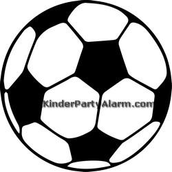 Fussball Kindergeburtstag Ticket Einladung