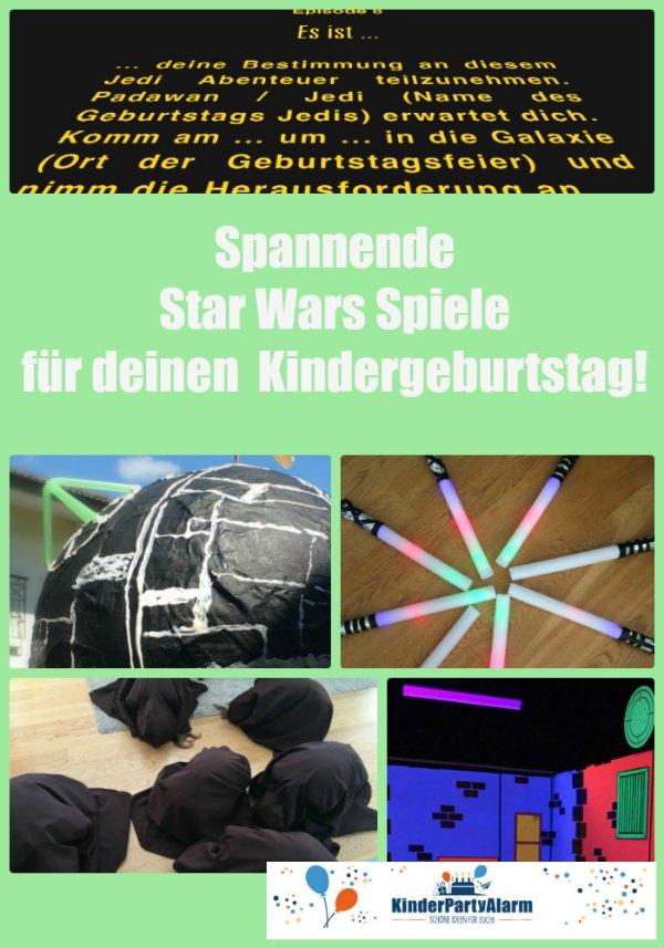 Tolle Spielideen für deinen nächsten Star Wars Kindergeburtstag! #geburtstag  #mottoparty #kinderpartyalarm #bastelnmitkindern #geburtstagsideen #kindergeburtstagspiele