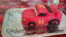 Cars Kindergeburtstag Kuchen