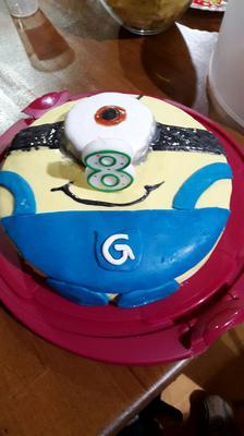 Minion Kuchen