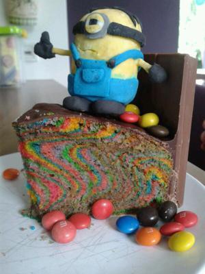Minions Kuchen Einzelstück