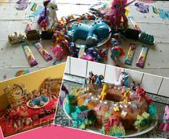 My Little Pony Kuchen zum 4 Geburtstag