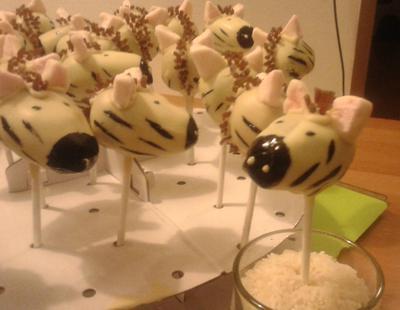 Zebra Cake-Pops